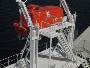 ダビット式救命艇