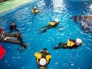 救命胴衣使用訓練