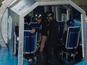 ヘリコプター水中脱出訓練