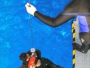 サバイバースリング吊上げ訓練