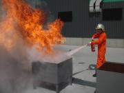 消火訓練 / Fire Fighting Training