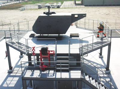 Heli-Deck Fire Fighting Module